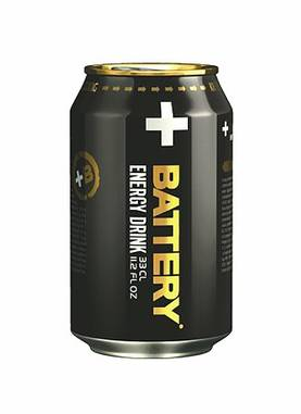 BATTERY ENERGY DRINK 33cl - Keksit, Virvokkeet ja Säilykkeet - 6415600025300 - 1