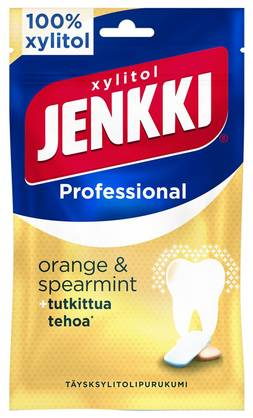 JENKKI PRO ORANGE-SPEARMINT 90g - Pastillit ja purukumit - 6420256011430 - 1