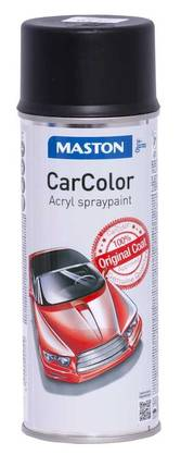 MASTON CARCOLOR 0121 MATTA MUSTA 400ml - Maalit ja Massat - 6412490002510 - 1