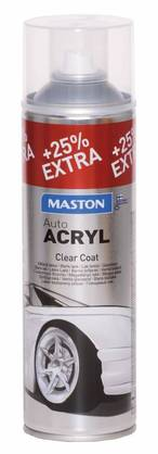 Maston clear coat - Maalit ja liuottimet - 6412490024970 - 1