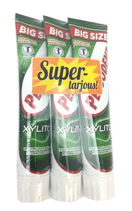 PEPSODENT HT XYLITOL 3x125ml - Hampaiden hoito - 7310009004170 - 1
