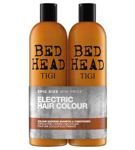 TIGI Bed Head Colour Goddess Shampoo and Conditioner - Shampoot ja hoitoaineet - 615908942200 - 1