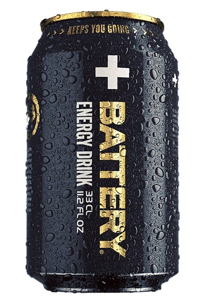 BATTERY ENERGY DRINK 33cl - Virvoitusjuomat - 6415600025300 - 3