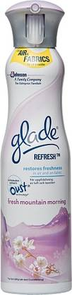 GLADE AIR & FABRIC FRESH MOUNTAIN 275ml - Muut Kemikalio Tuotteet - 5000204609721 - 1