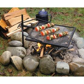 NUOTIOGRILLI JALUSTALLA CAMPING BBQ - Grillit - 6438168093031 - 1
