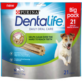 PURINA DENTALIFE SMALL BIG PACK 345g - Eläinruoka koirille - 7613035379831 - 1