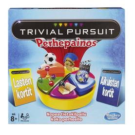 TRIVIAL PURSUIT FAMILY REFRESH - Sisäleikkitarvikkeet - 5010994893651 - 1