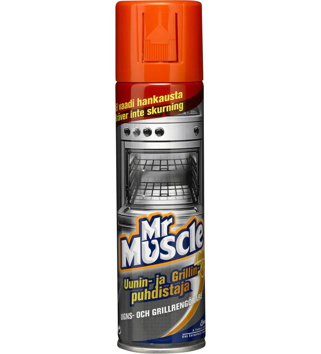Mr Muscle Uunin- Ja Grillinpuhdistaja