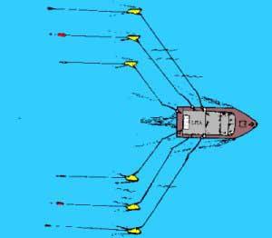 Plaanari walley board vasen er lehden testivoittaja for How to troll for fish