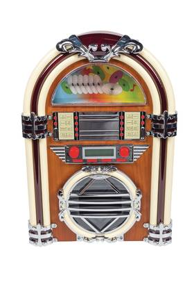 JUKEBOX + CD SOITIN + RADIO - Stereot ja kaiuttimet - 5412810160303 - 1
