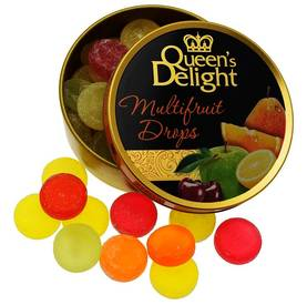 QUEEN'S DELIGHT MULTIFRUIT MIX 150g - Karkkipussit - 4014600202593 - 1