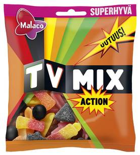TV MIX ACTION 325g - Karkkipussit - 6420256013663 - 1