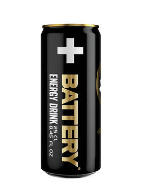 BATTERY ENERGY DRINK SLIM 0,25L - Keksit, Virvokkeet ja Säilykkeet - 6415600520614 - 1