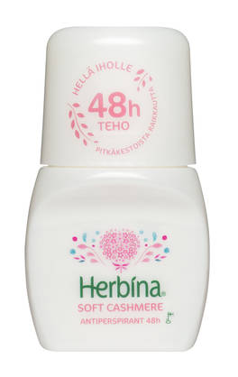 HERBINA ROLL ON 48h SOFT CASHMERE 50ml - Kemikalio - 6414504786454 - 1
