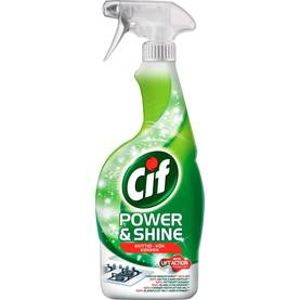 KEITTIÖ SPRAY CIF POWER & SHINE 750ml - Yleispesuaineet - 8718114695464 - 2