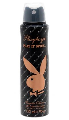 PLAYBOY DEO SPRAY PLAY IT SPICY 150ml - Kemikalio - 3607340618864 - 1