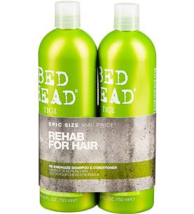 Tigi Bed Head Re-Energize 2-pack  - Shampoot ja hoitoaineet - 615908942224 - 1