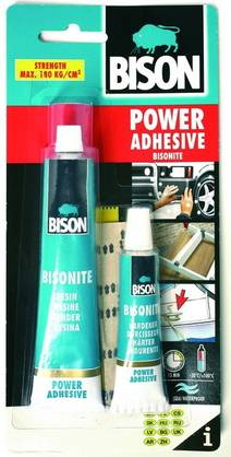 BISON POWER ADHESIVE VOIMALIIMA 62,5ml - Liimat ja Massat - 8710439153155 - 1