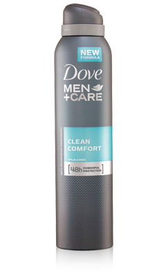 DOVE DEO SPRAY MIEHILLE CLEAN 150ml - Kemikalio - 8712561254595 - 1