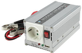 INVERTTERI 300W USB 24V -> 230V - Invertterit - 5412810116485 - 1