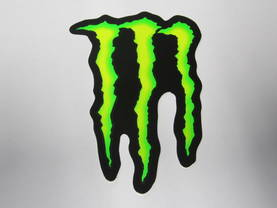 MONSTER ENERGY TARRA 10*13cm - Tuning osat ja somisteet - 997700160915 - 1