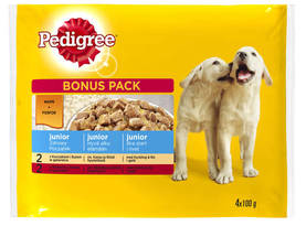 PEDIGREE JUNIOR 4x100g - Koiranruoka - 5900951249426 - 1