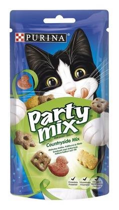 PURINA PARTY MIX COUNTRY MIX 60g - Eläinruoka kissoille - 7613035211216 - 1