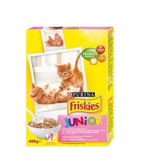 FRISKIES KISSANRUOKA JUNIOR KANA - Kissanruoka - 3222270153027 - 1