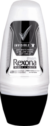 REXONA DEO INVISIBLE BLACK&WHITE 50ml - Kemikalio - 96097328 - 1
