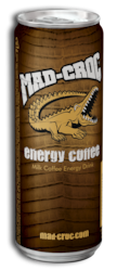 MAD-CROC ENERGY MAITOKAHVI 250ml