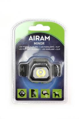 AIRAM LED OTSAVALO MINOR 0,5W - Otsalamput - 6435200216069 - 1
