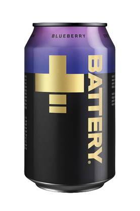 Battery blueberry energy drink - Virvoitusjuomat - 6415600545259 - 1