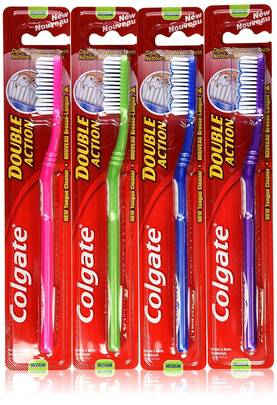 COLGATE HAMMASHARJA DOUBLE ACTION MEDIUM - Hampaiden hoito - 6001067007289 - 3