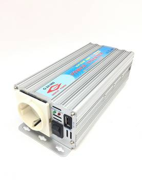 INVERTTERI 600W 24V-230V GENIUS POWER - Invertterit - 6419944353709 - 2