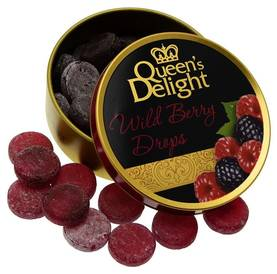 QUEEN'S DELIGHT WILDBERRY MIX 150g - Karkkipussit - 4014600203149 - 1