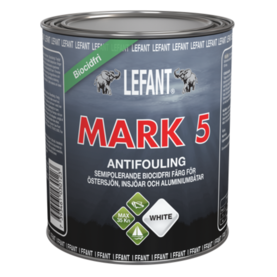 Lefant Mark 5 Semi Hard antifouling maali - Veneenhoito - 7393461030079