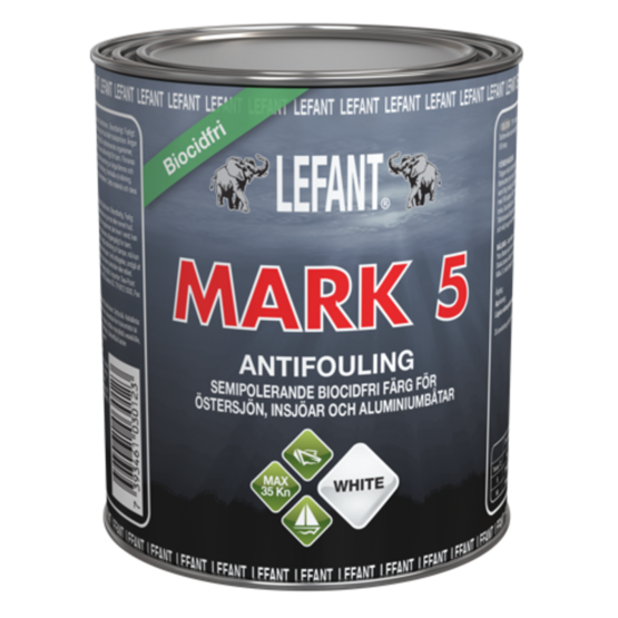 Lefant Mark 5 Semi Hard antifouling maali - Veneenhoito - 7393461030079 - 1